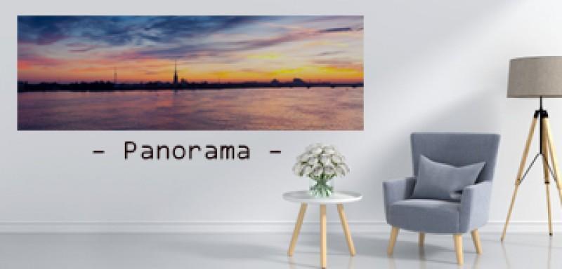 รูปสีขนาด Panorama